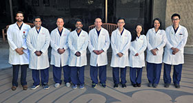 CPMC Cardiology fellows
